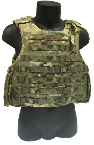 NFM Delta body armour, with soft armour and ballistic plates