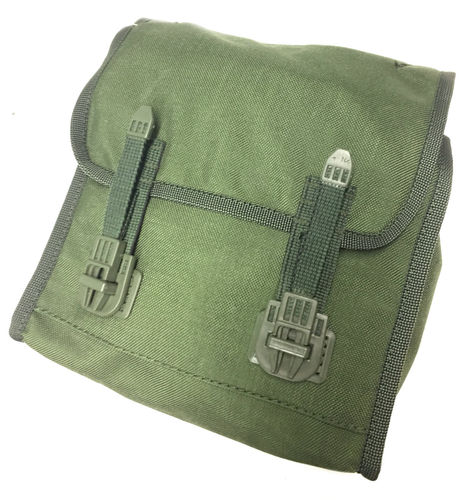 M05 Gas Mask pouch with insert, olive green