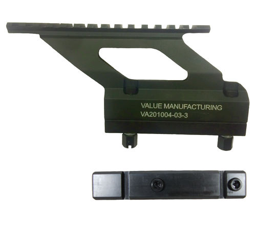 Value Manufacturing Picatinny sight mount and side rail, RK95 / SAKO M92 (M7 thread), package deal