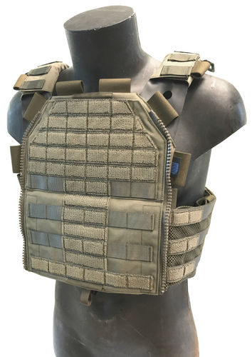 Sioen Tacticum Plate Carrier, olive green