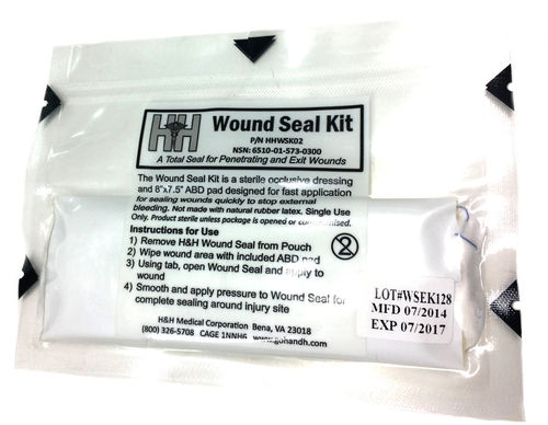 H&H Medical Wound Seal Kit