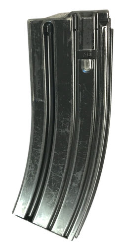 Heckler & Koch High Reliability 5.56x45mm / .223cal 30 round steel magazine, used