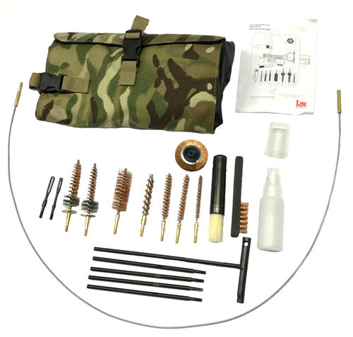 Heckler & Koch gun cleaning kit, 5.56mm / 7.62mm / 9mm / 12gauge / 40mm