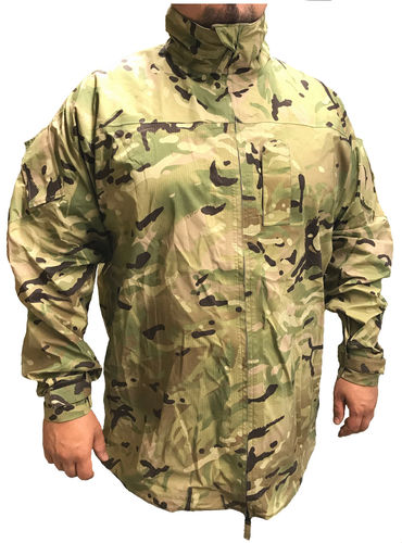 British PCS hardshell jacket, MTP-camouflage, new