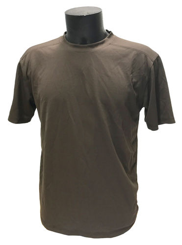 British army  antistatic, moisture wicking T-shirt, brown, used