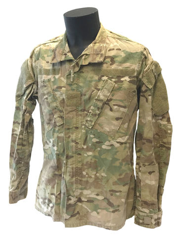 US Army ACU uniform jacket, Fire resistant, MultiCam, used
