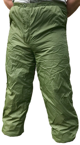 "British Army ""Softie"" Thermal trousers, reversible, green / khaki"