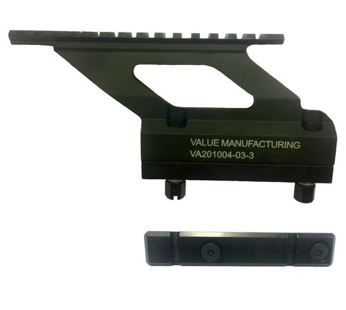 Value Manufacturing Picatinny sight mount and side rail, RK62, package deal