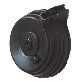 AK 7.62x39mm 75 round drum magazine