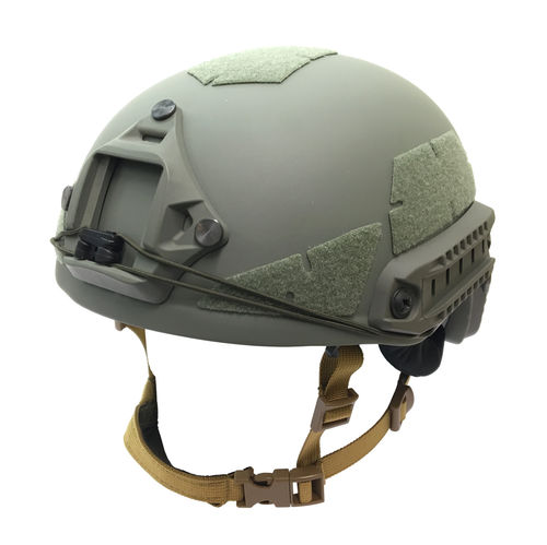 UaRms TOR D High Cut NIJ IIIa ballistic helmet, Foliage Green
