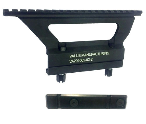 Value Manufacturing Picatinny optics mount and side rail for milled receiver AK's, package deal