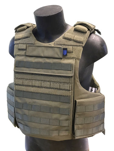 Sioen Tacticum Body Armour Vest, with NIJ IIIa Dyneema soft armour panels *PRE-ORDER*