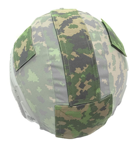 WarGear™ Velcro Patch Set, for High Cut helmet cover, M05 woodland camouflage