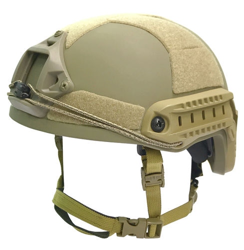 UaRms TOR D High Cut NIJ IIIa ballistic helmet, Coyote Brown