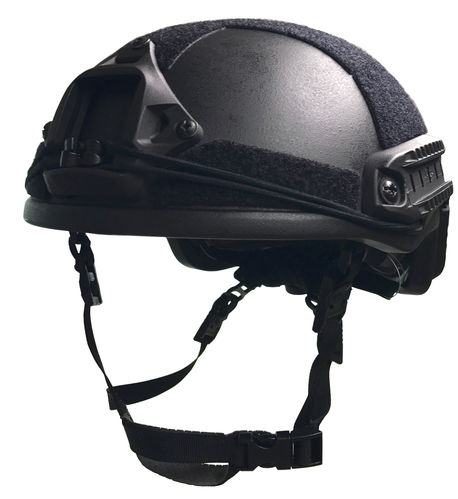 UaRms TOR D High Cut NIJ IIIa ballistic helmet, Black