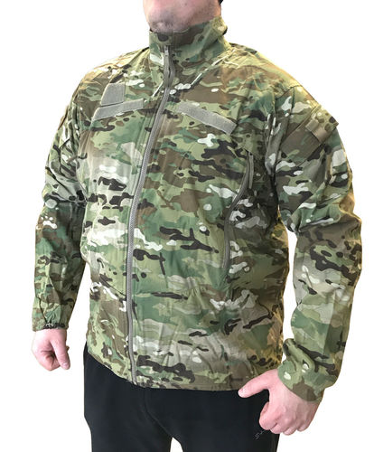 "US Army ECWCS Gen3 Level 4 Softshell ""Wind Shirt"" jacket, MultiCam camo"