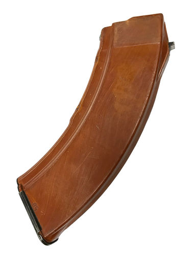 AK 7.62x39mm 30 round bakelite magazine, surplus