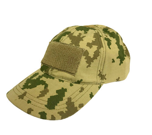 WarGear Operator Cap, M04/M05 desert camo, with velcro attachments, size 54-62 (adjustable)