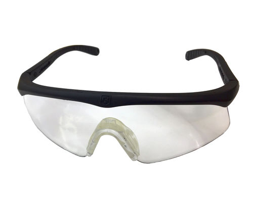 Revision Sawfly protective eyewear, with 2 clear lenses, surplus